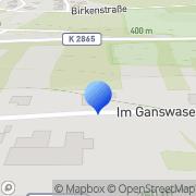 Karte Franz Gerner Niederstetten, Deutschland