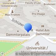 Karte Ideal Fitness Center Hamburg, Deutschland