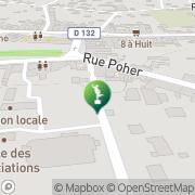 Carte de Mairie Le Faouët, France