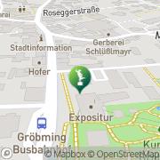 Karte Heimatmuseum Gröbming Gröbming, Österreich