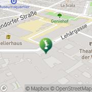 Karte Semper Depot Wien, Österreich