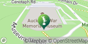 Map Auckland War Memorial Museum Auckland, New Zealand