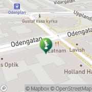 Karta Mimnesko Stockholm, Sverige