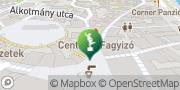Map Micro Miniature Museum Szentendre, Hungary