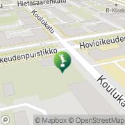 Kartta Vaasan kaupunki Tikanojan taidekoti Vaasa, Suomi