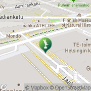Kartta Helsingin kaupunki taidemuseo Helsinki, Suomi