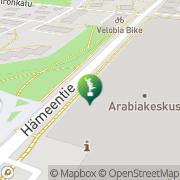 Kartta Arabian museo Helsinki, Suomi