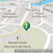 Kaart Rien Poortvliet Museum Middelharnis, Nederland