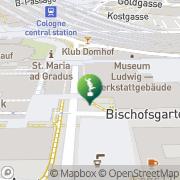 Karte Kunst-u. Ausstellungshalle Bonn Köln, Deutschland