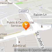 Map The Falcon London, United Kingdom