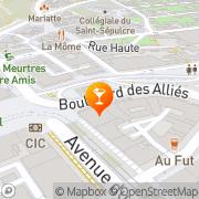 Carte de Le Tanais Caen, France