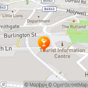 Map Burlington Chesterfield, United Kingdom
