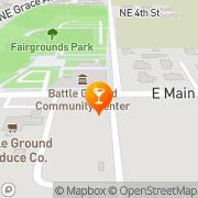 Map Eastside Athletic Club Battle Ground, United States