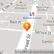 Map Ruth's Chris Steak House Philadelphia, United States