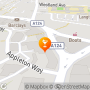 Map Sutton Arms Hornchurch, United Kingdom