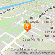 Map Wind's Bar Torbole, Italy