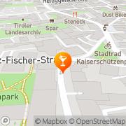 Karte Weekender Innsbruck, Österreich