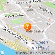 Karte Bricks Music Bar Salzburg, Österreich