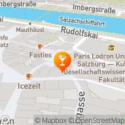 Karte Zirkelwirt am Papagenoplatz Salzburg, Österreich