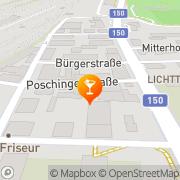 Karte Cafe-Bar Poschinger Salzburg, Österreich