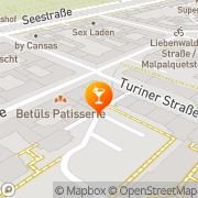 Karte Automatenunternehmen Boris Berlin, Deutschland