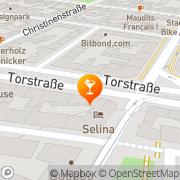 Karte Burger Berlin, Deutschland