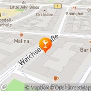 Karte Freiraum Berlin, Deutschland