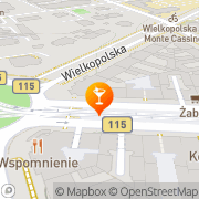 Mapa Kabart Szczecin, Polska