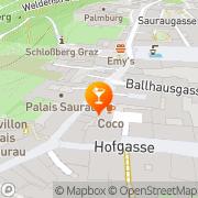 Karte Cocobar Akerhazar Graz, Österreich