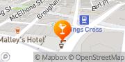 Map Kings Cross Hotel Potts Point, Australia