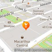 Map Velvet Rope Entertainment South Brisbane, Australia
