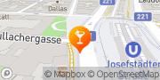 Karte Café Concerto Wien, Österreich