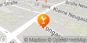 Karte aQuadrat Café-Bar Wien, Österreich