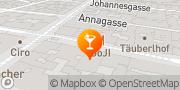 Map KRUGER'S American Bar Vienna, Austria