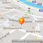 Karte Non+Ultra Bar-Lounge Wien, Österreich