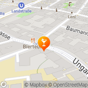 Karte Café Malipop Wien, Österreich
