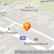 Karte Vintage Donnerskirchen, Österreich