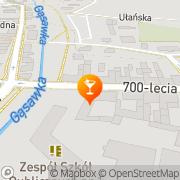 Mapa Bar Żnin, Polska