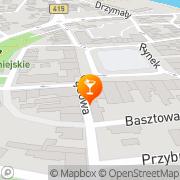 Mapa Cafe Bar Krapkowice, Polska