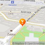 Mapa Zając B., Łęczycki S. Bar s.c. Katowice, Polska