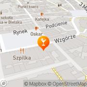 Mapa Pierożek SC Bielsko-Biała, Polska