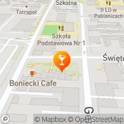 Mapa Bar Pabianice, Polska