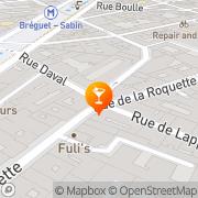 Carte de Le Cercle Rouge Paris, France