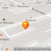 Kartta Pub Tinatuoppi Turku, Suomi