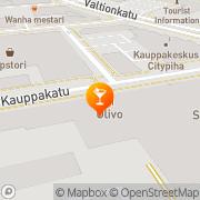 Kartta Ravintola Wanha Mestari Seinäjoki, Suomi