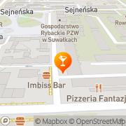 Mapa Bar Suwałki, Polska