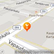 Kartta 54-Ravintolat Oy Forssa, Suomi