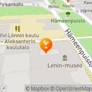 Kartta Ravintola Teatterikulma Tampere, Suomi