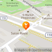 Kartta Ravintola Macondo Helsinki, Suomi