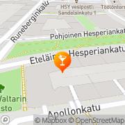 Kartta Biljardisali Ritz-Biljardi Helsinki, Suomi